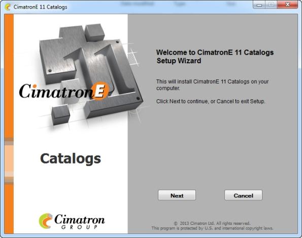 Cimatron E11 Catalog