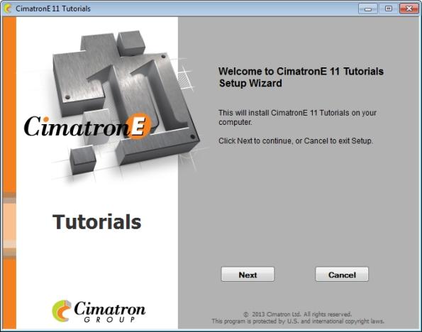 Cimatron E11 tutorials